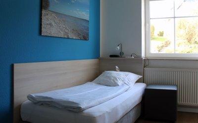 Einzelzimmer im Hotel Alte Fischereischule